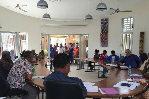 Réunion conseil municipal extraordinaire - Hienghène 2017