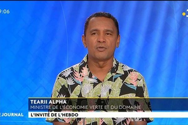 Tearii Alpha : nous avons toutes les plantes autres que le cannabis à développer
