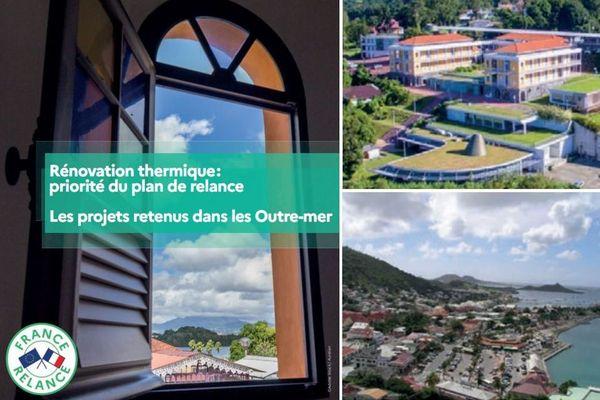 France Relance : projets retenus en Guadeloupe et à Saint-Martin