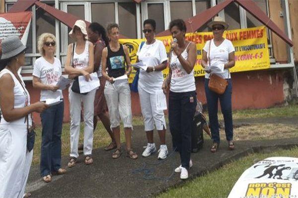Manifestation de l'Union des Femmes de Martinique