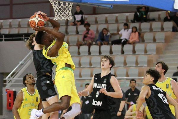 Fin des Oceania de basket U 17, victoire de l'Australie sur la Nouvelle-Zélande