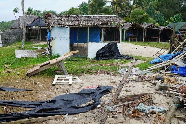 cyclone Harold : dégâts à Port Vila