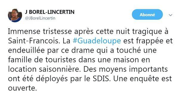 Tweet Borel LINCERTIN