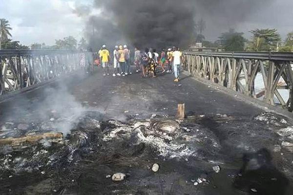 Émeutes en Haïti