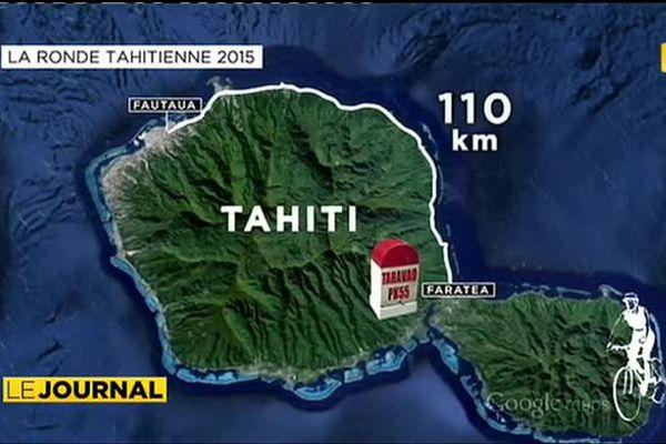 Cyclisme : la ronde tahitienne entre sport et tourisme