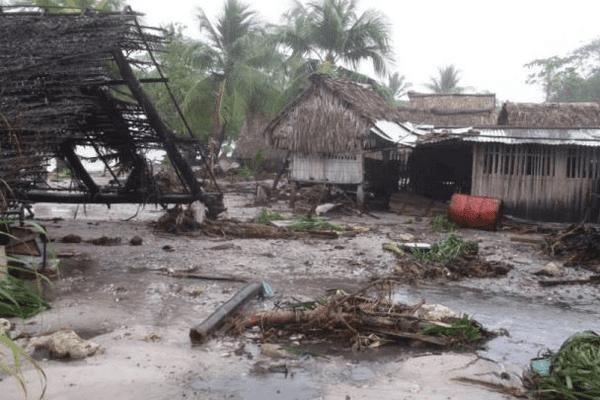 Le cyclone Pam a également dévasté Tuvalu et Kiribati