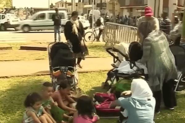 Des réfugiés syriens manifestent à Cayenne