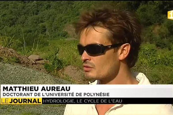 Mathieu Aureau, lauréat des 6e doctoriales