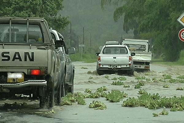 fortes pluies bourail