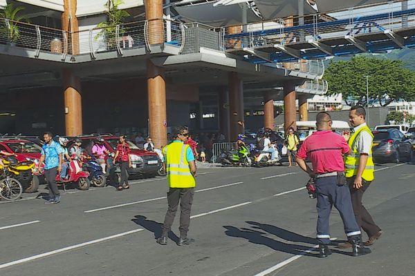 Départs quai de Papeete