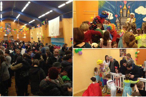 Clowns, princesses, fée : les enfants de Saint-Pierre fêtent le mardi gras