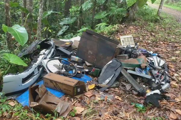 Pollution - déchets - dépôt sauvage