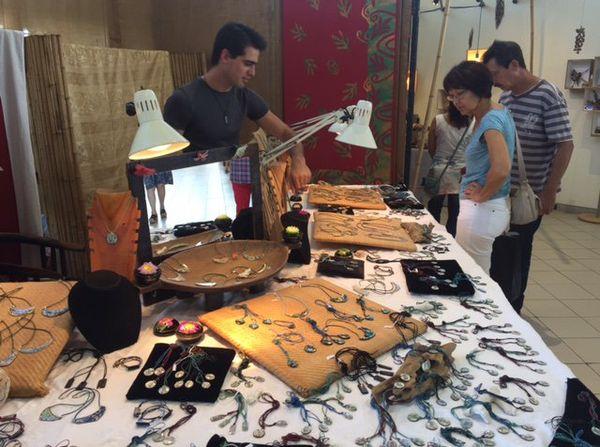 Photo salon des artisans d'art fête des mères maison des artisans 27 mai 2017