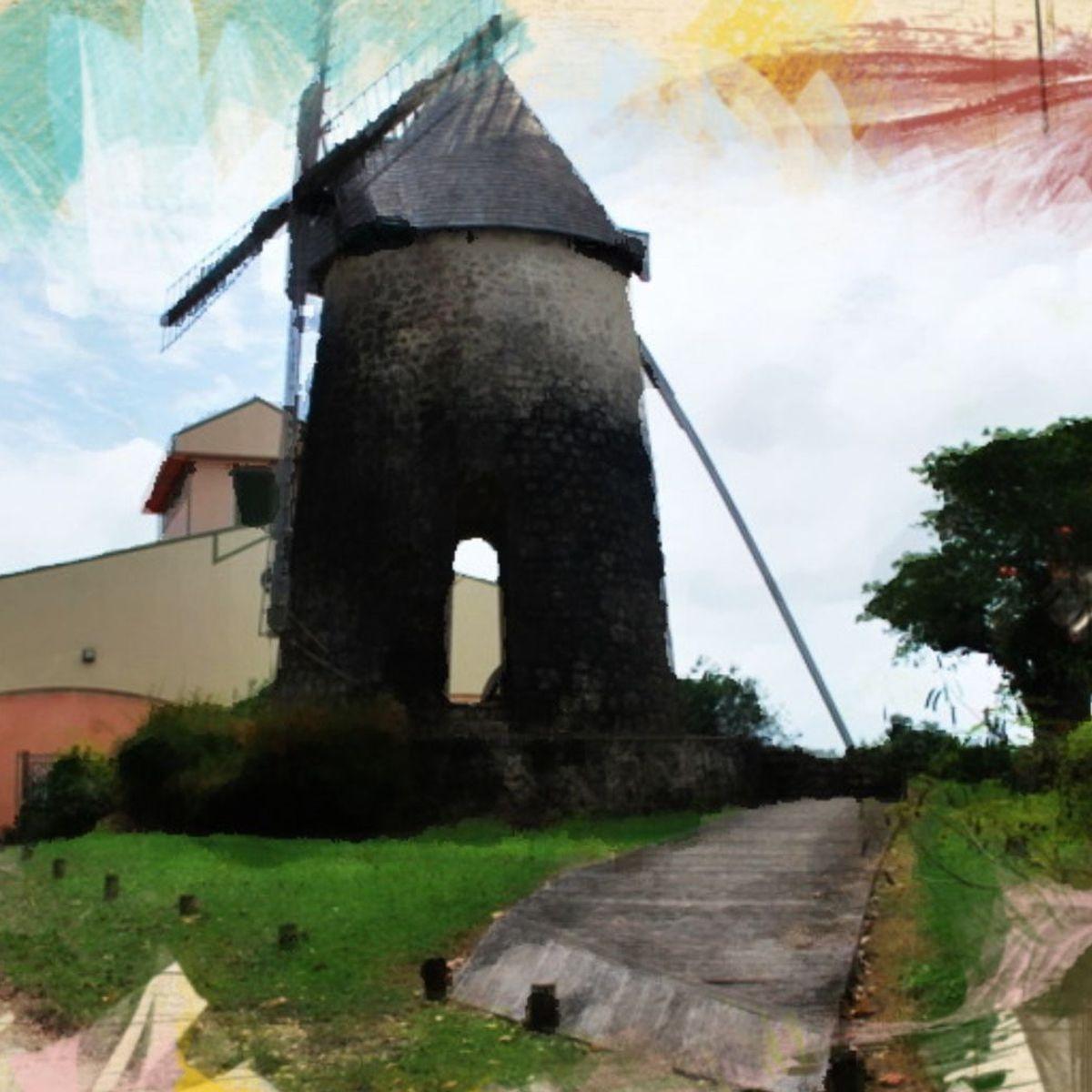 Le Chateau Murat au coeur de l'Île aux cent moulins