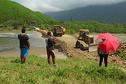 Bourail: fin de l'isolement pour les habitants de la Roche Percée