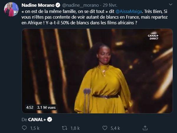 Tweet Morano