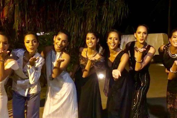 Gala miss Tahiti 2018