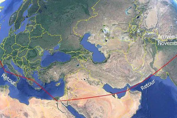 Tour du monde Hugues Jurion 3