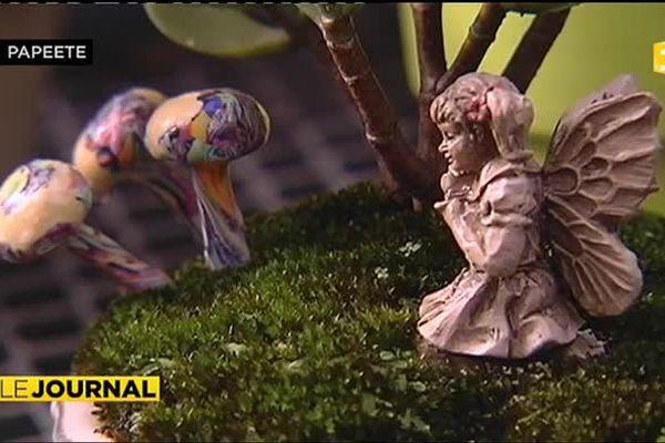 Les jardins miniatures de Dominique Picard