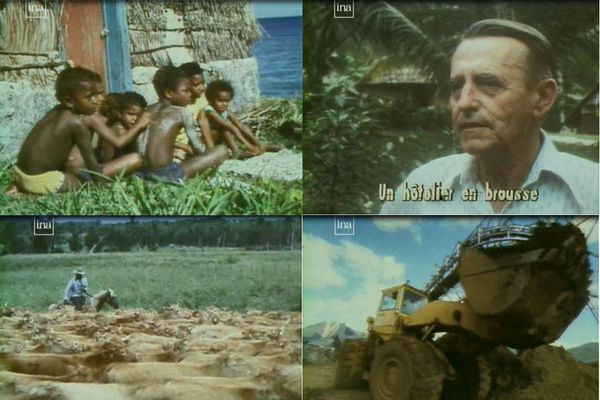 """Images """"Caillou de la discorde"""" FR3 1981"""