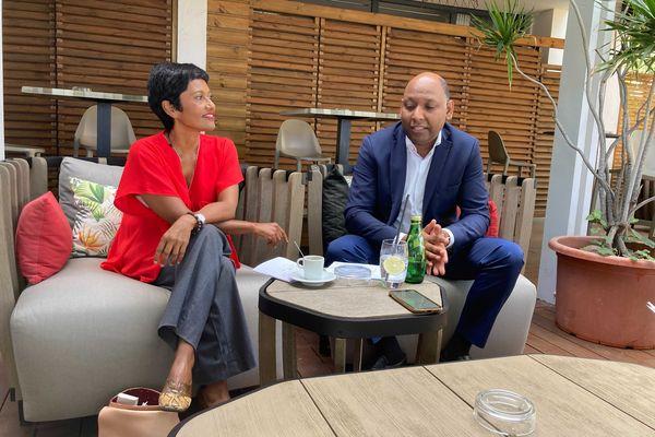 Elections Régionales: Thierry Robert apporte son soutien à Ericka Bareigts