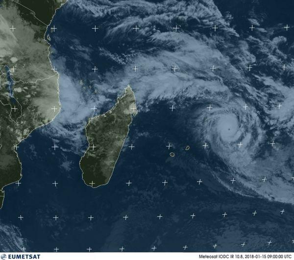 Cyclone Océan Indien