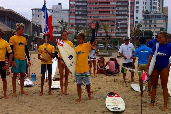 Surf : compétition à Durban