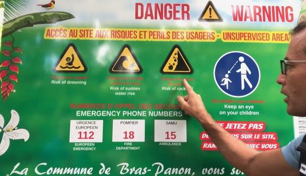 Eboulement au Bassin la Paix Bras-Panon 2 blessés graves 241119