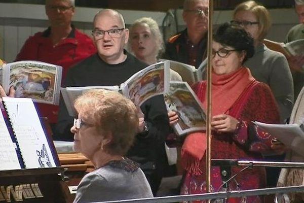 répétition chorale de Saint-Pierre