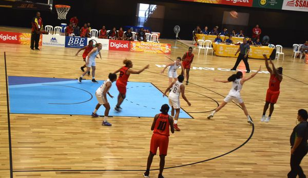 Samoa 2019, défaite des basketteuses de Calédonie contre PNG