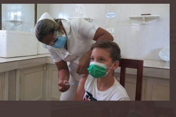 Cuba vaccination des enfants