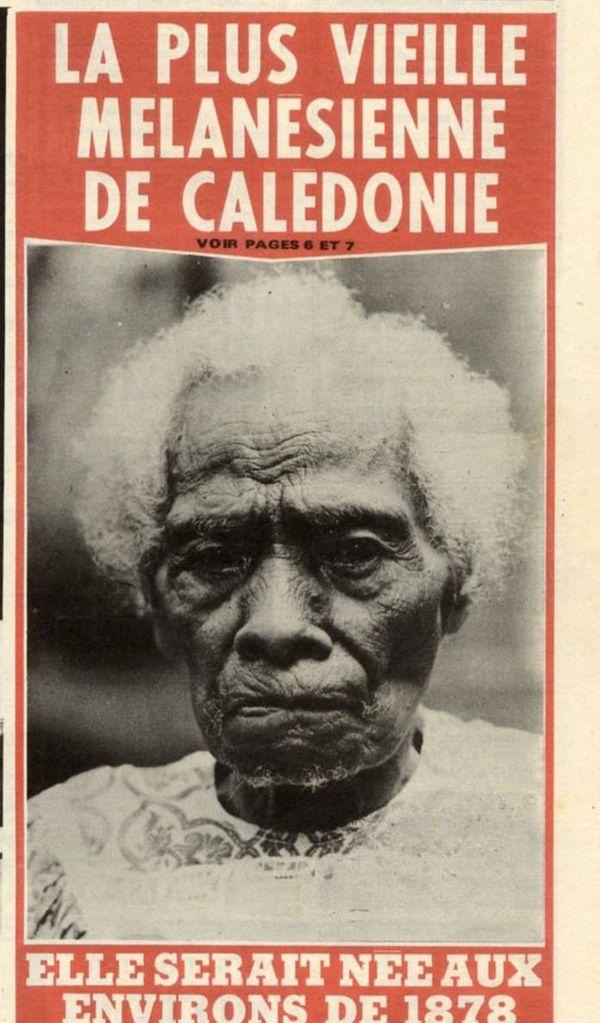 portrait femme mélanésienne retrouvé