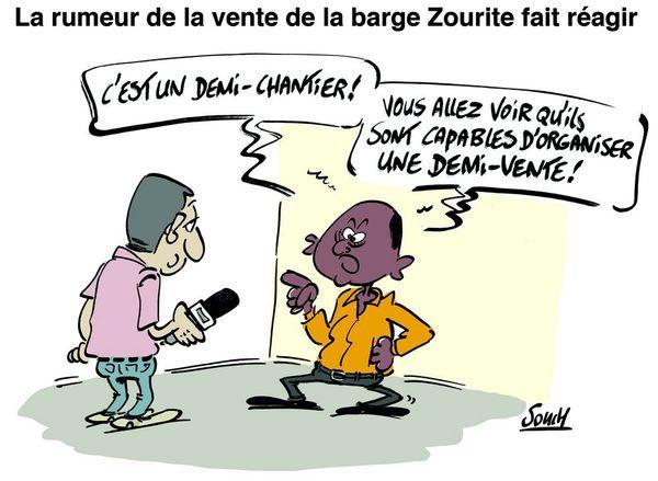Le dessin de Souch  : vente zourite
