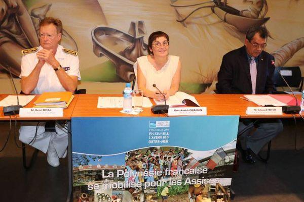 Point d'étape en Polynésie sur les Assises des Outre mer