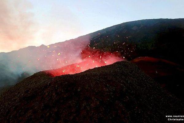 Eruption Fournaise 9 mai 2018