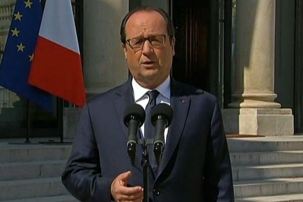 Discours Président Hollande crash d'Air Algérie
