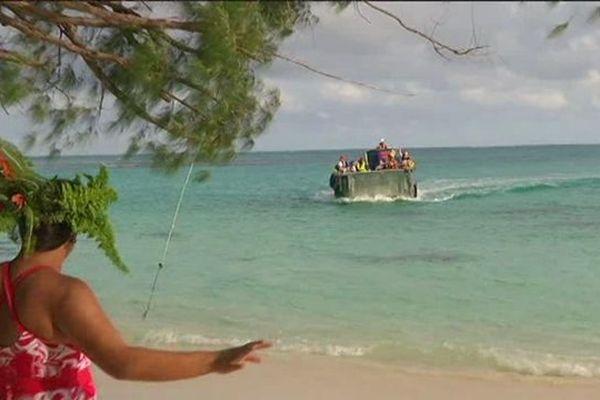 Aranui V : dernière escale pour les touristes