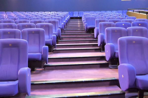 cinéma salle obscure toile écran cinépalmes