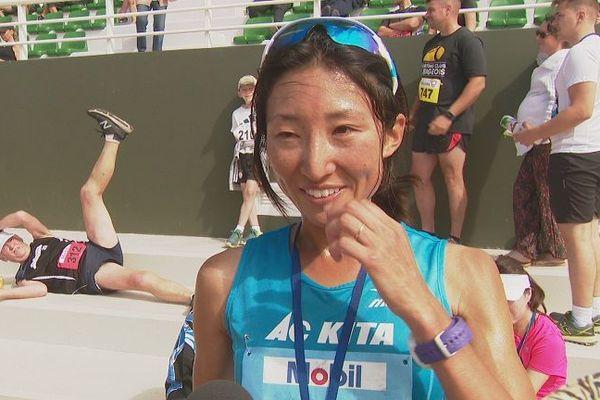 Haruka Yamaguchi n'a jamais été aussi rapide à Nouméa pour son 4e succès.