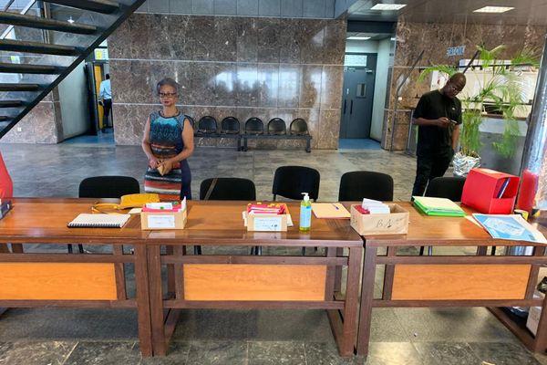 Bureau centralisateur à Matoury Municipales 2020