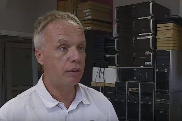 Vincent Balouet, conseiller en gestion des risques et organisateur de l'exercice