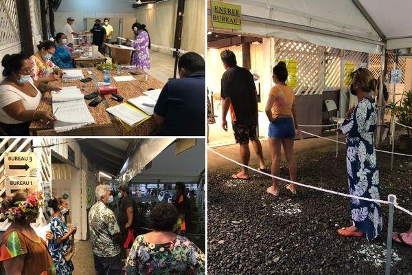bureau de vote Uturoa