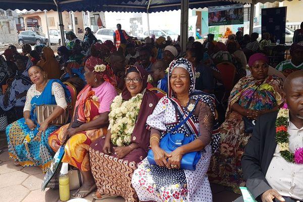 Hassanati Oumouri, présidente de l'associarion des aidants familiaux de Mayotte