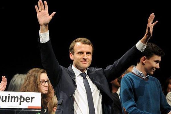 Emmanuel Macron à Quimper lundi soir