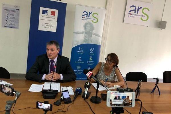 coronavirus conférence de presse préfet ARS 3 cas avérés 120320