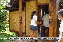 Les formations en alternance reprennent au CETAD de Nuku Hiva