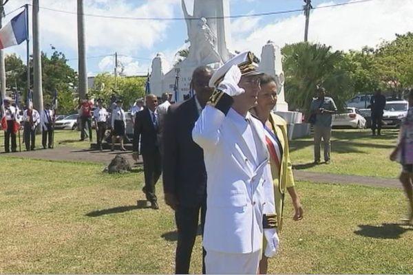 Prise de fonction de Philippe Gustin Préfet de la Guadeloupe
