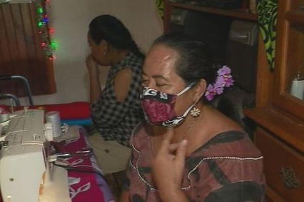 Des masques made in Wallis et Futuna