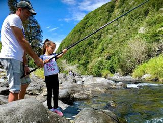 6ème édition fête de la truite pêche rivière Langevin Saint-Joseph 131018