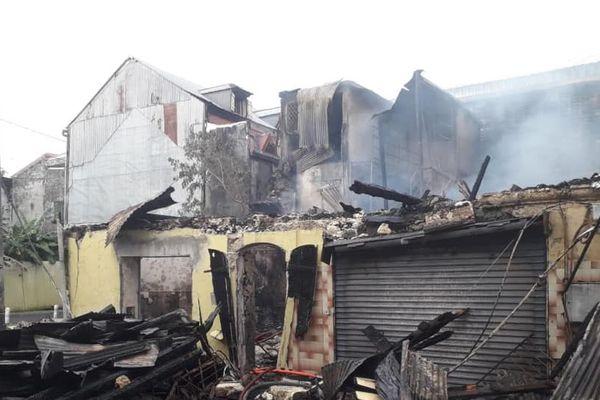 Incendie rue Victor Hugo